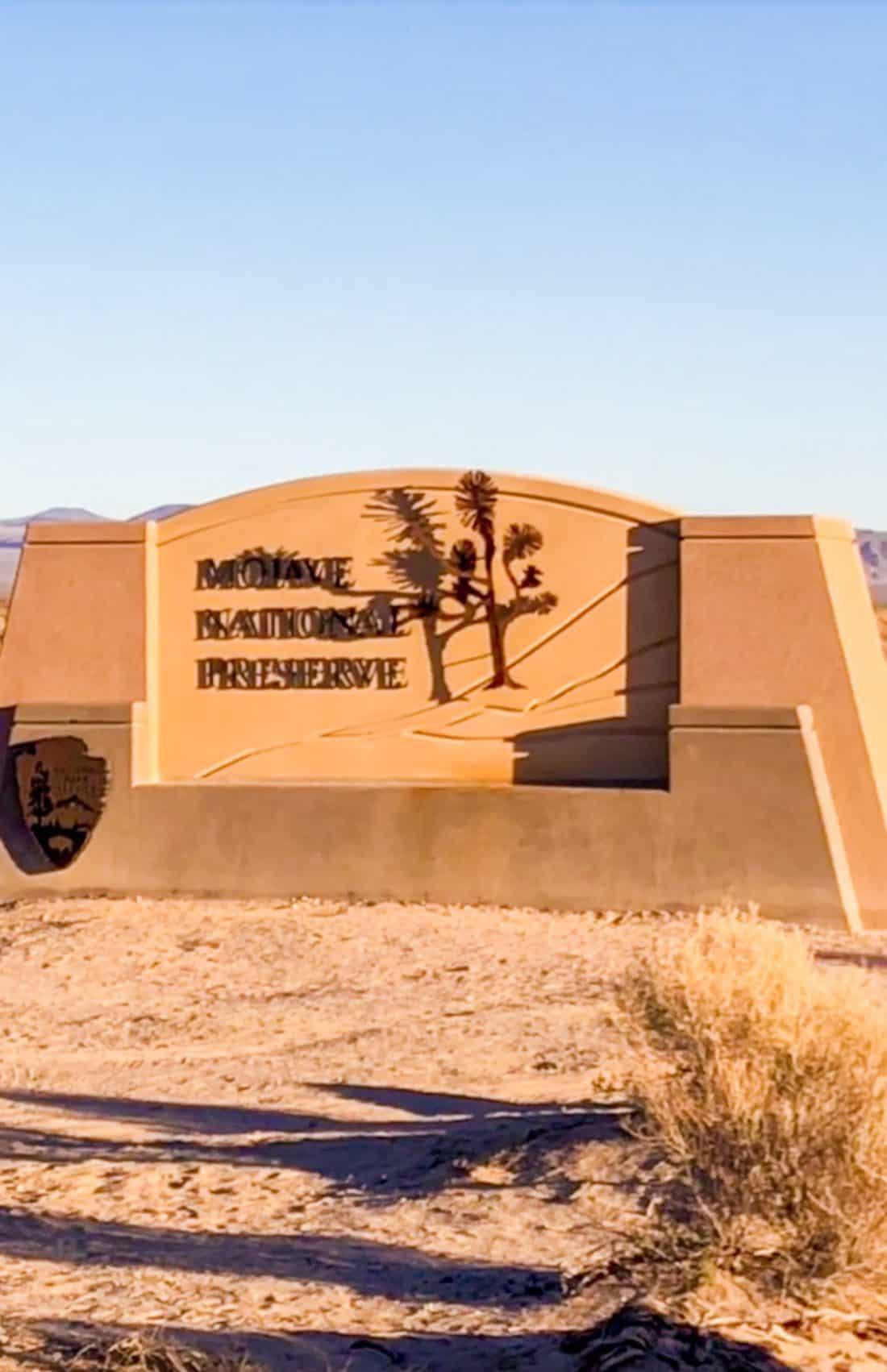 ShaundaNecole.com | Mojave National Preserve Sign