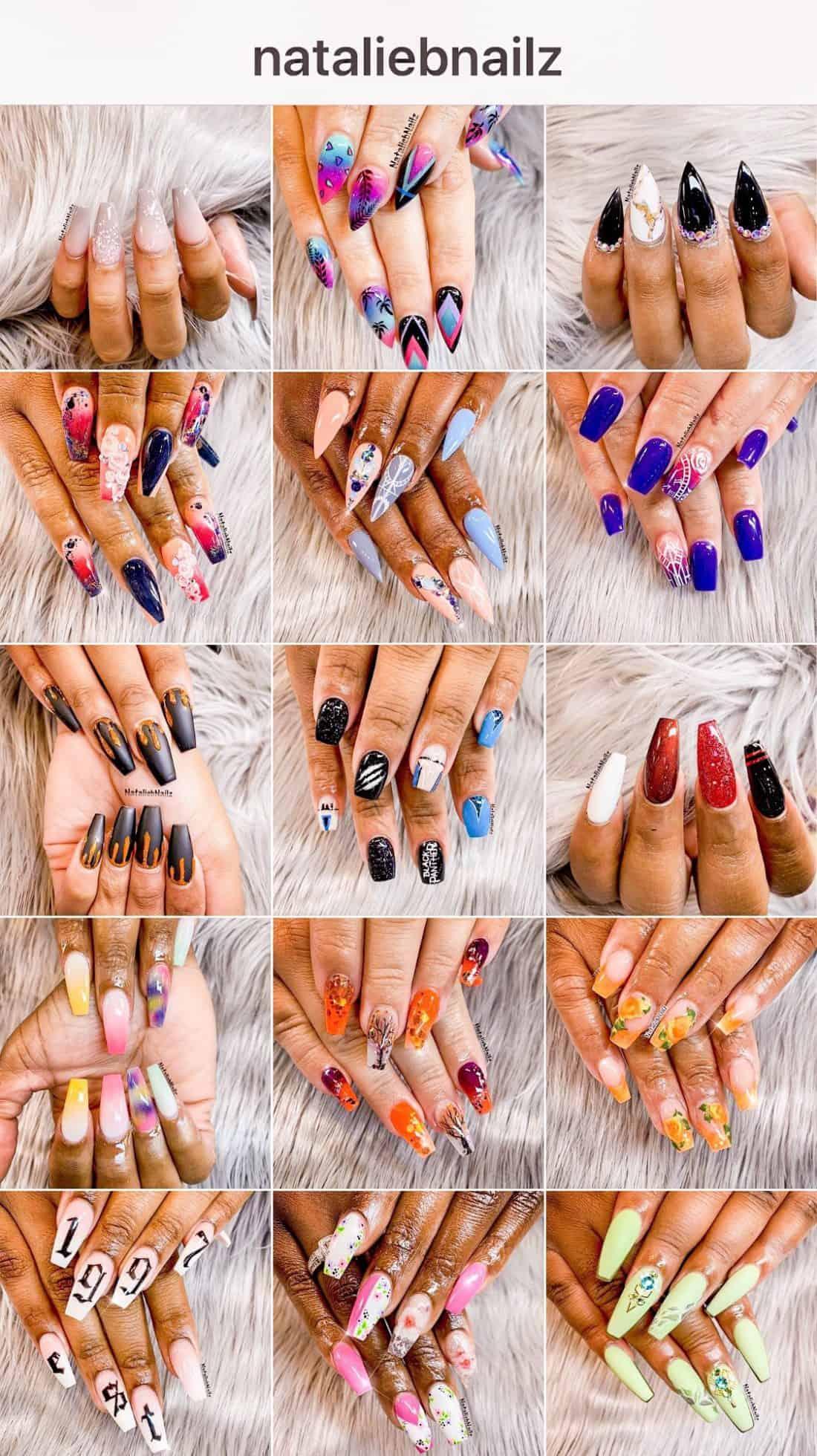 ShaundaNecole.com | Wonder Nails meet @NatalieBNailz