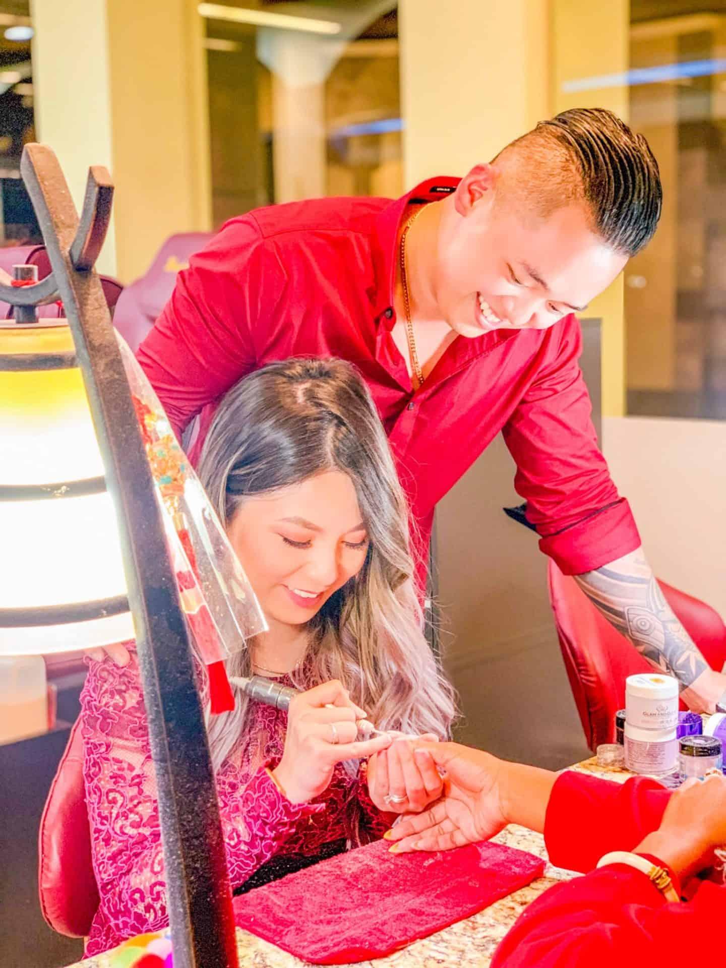 ShaundaNecole.com | Meet Natalie & David, Nail Professionals at Wonder Nails