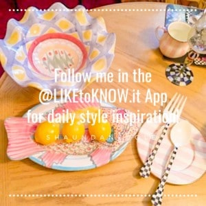 ShaundaNecole.com | MacKenzie-Childs Patterns Gone But Not Forgotten | Follow Shaunda Necole in the LikeToKnowit App
