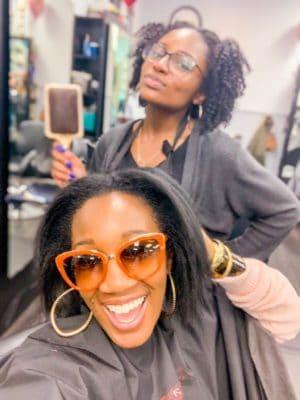 ShaundaNecole.com | Keratin Treatment With Destiny of Hair We Are Salon VA Beach