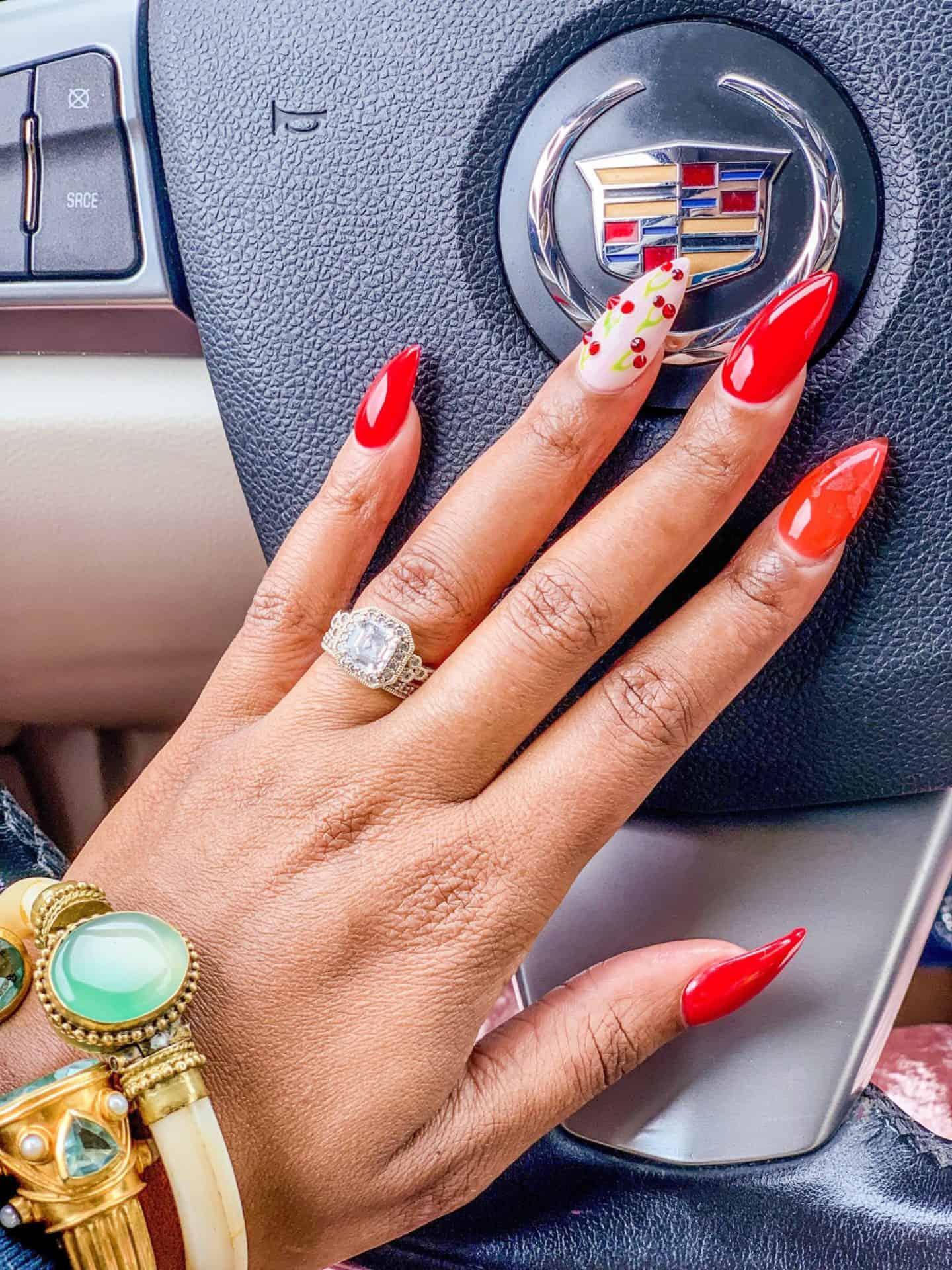 Wonder Nails x Shaunda Necle Cadillac Nail Art Designs