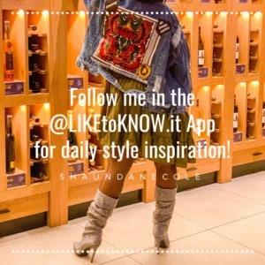 ShaundaNecole.com Boho chic style in the LIKEtoKNOWit app