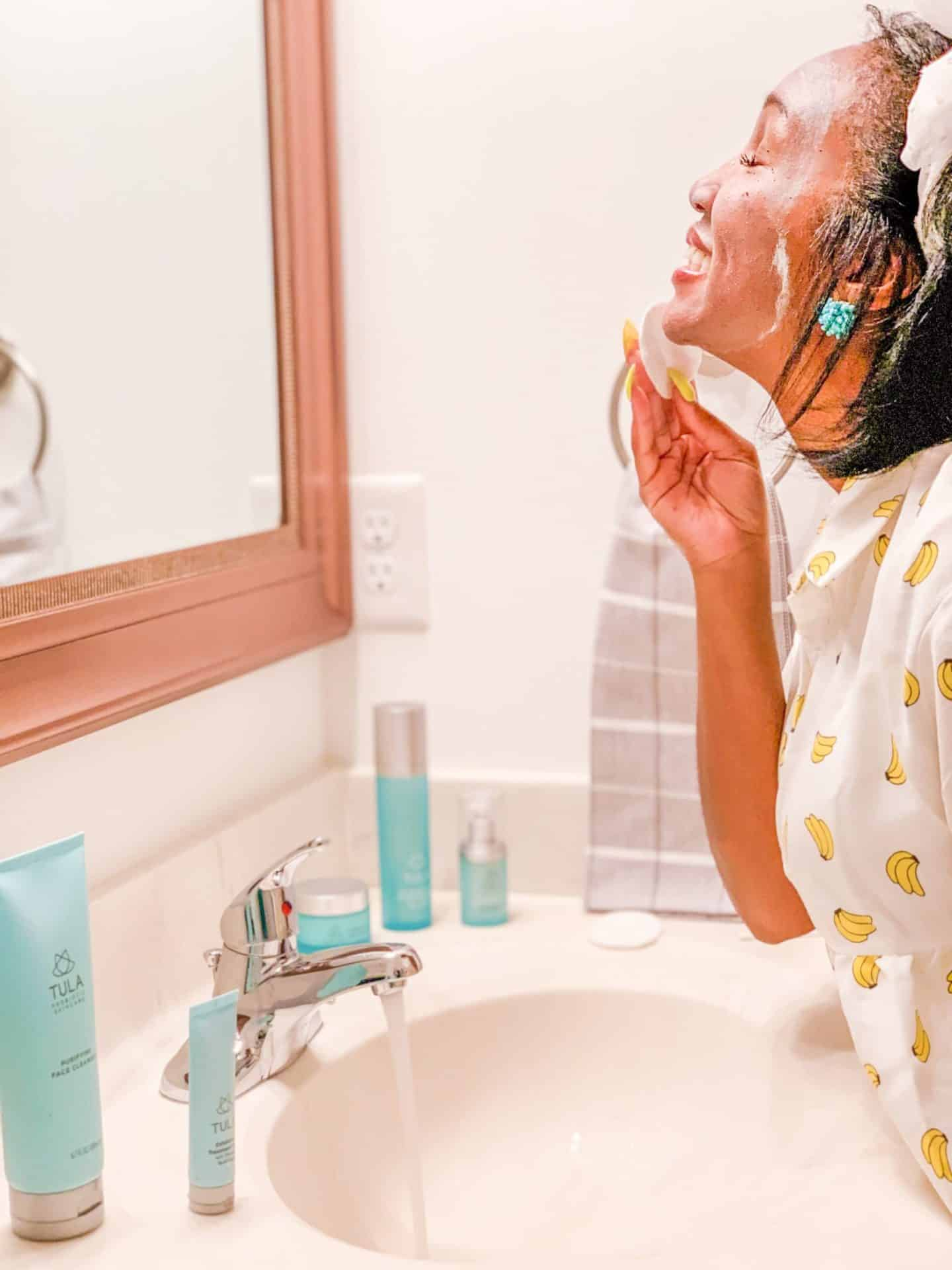 Shaunda Necole | Fresh Spring Routines With TULA Skincare- Wash Day & Night with Purifying Face Cleanser
