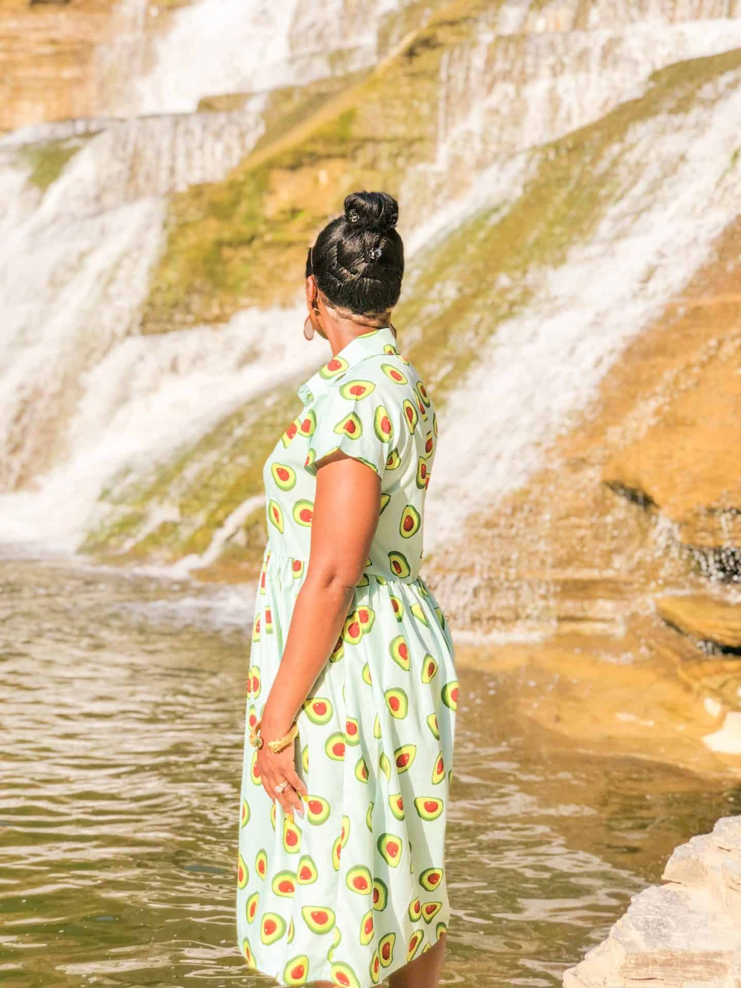 Shaunda Necole- Chasing Waterfalls with a Courtly Check Undercut