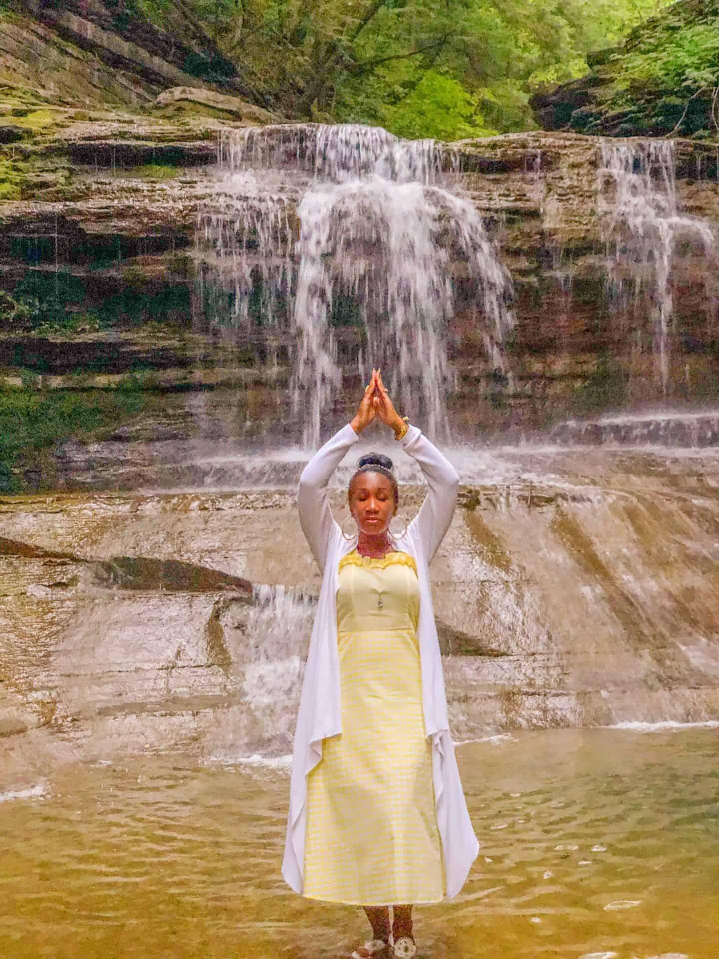 Shaunda Necole- Buttermilk Falls Ithaca NY