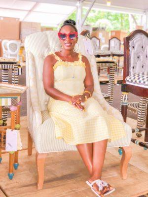 Shaunda Necole- MacKenzie Childs 2019 Barn Sale Personal Shopper- Aurora Pattern