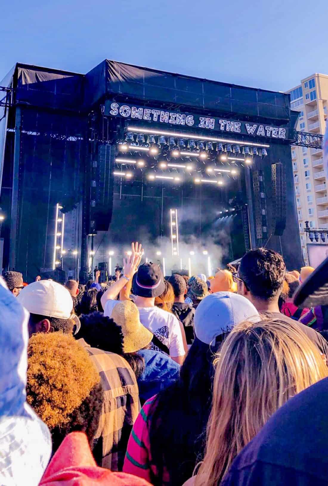 ShaundaNecole.com Pharrell Williams Something In The Water Festival Stage VA Beach Oceanfront
