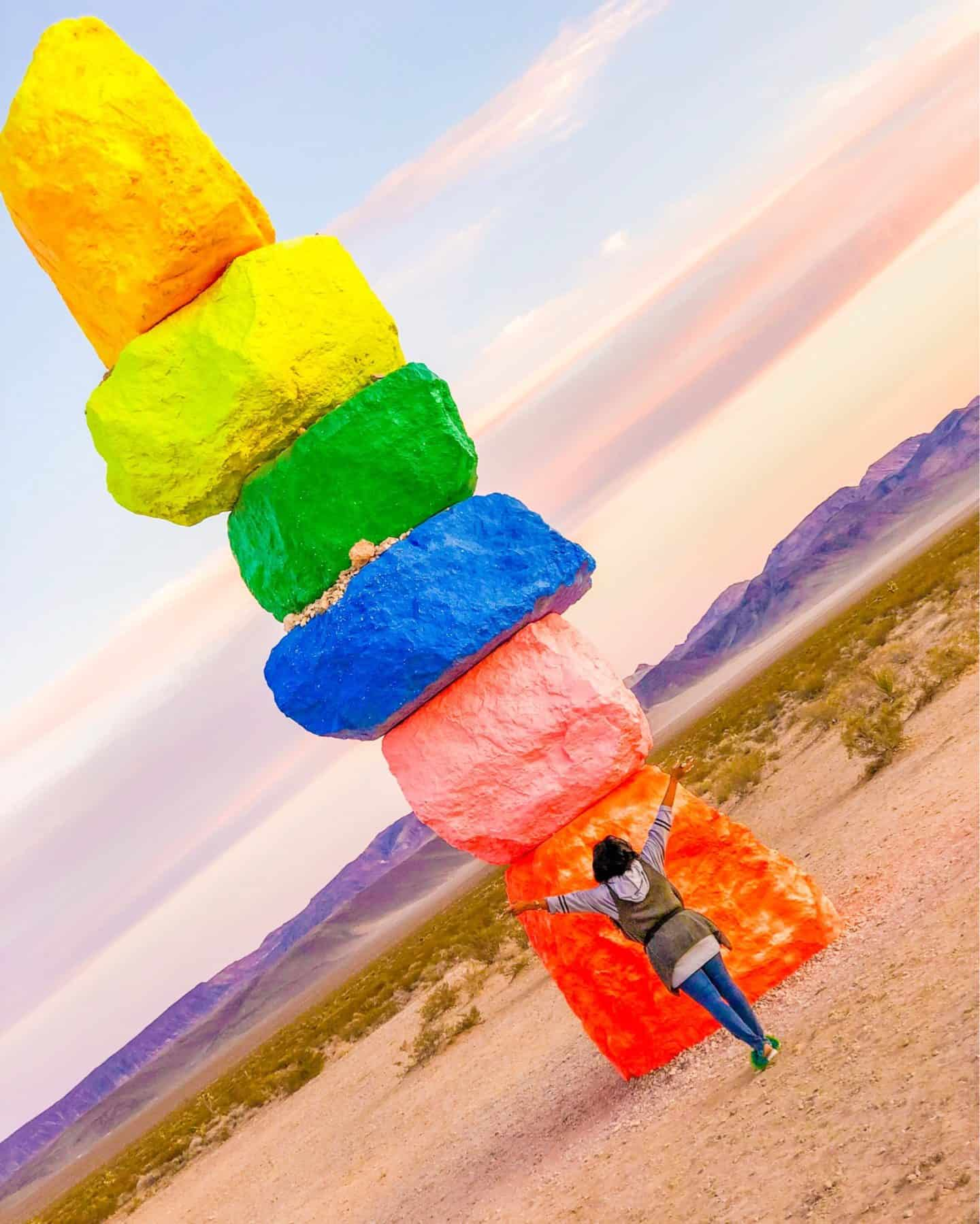 Shaunda Necole Nevada Museum Of Art Seven Magic Mountains