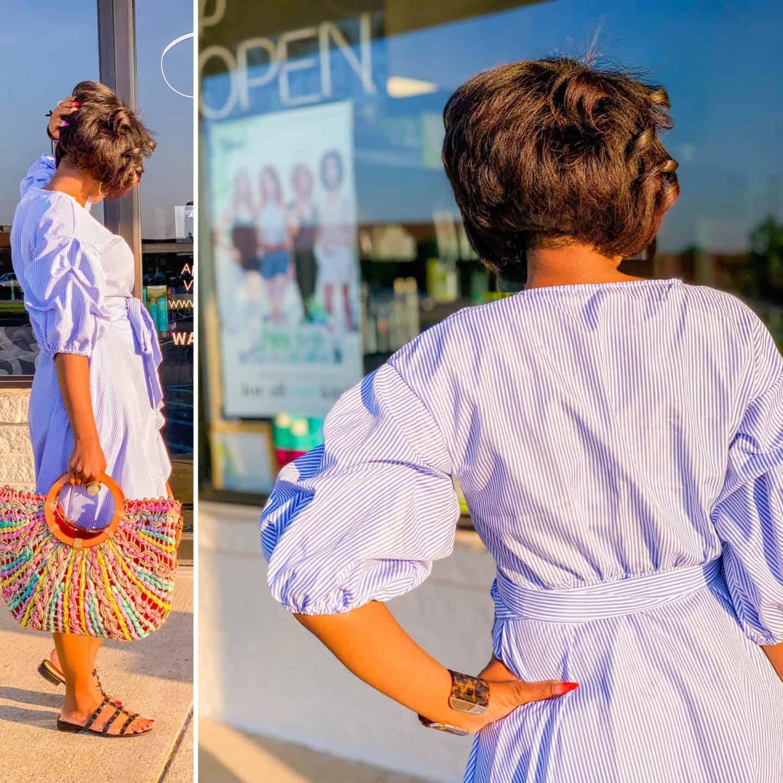 Shaunda Necole- Hair We Are Salon Virginia Beach Summer cut and color by hairstylist Destiny