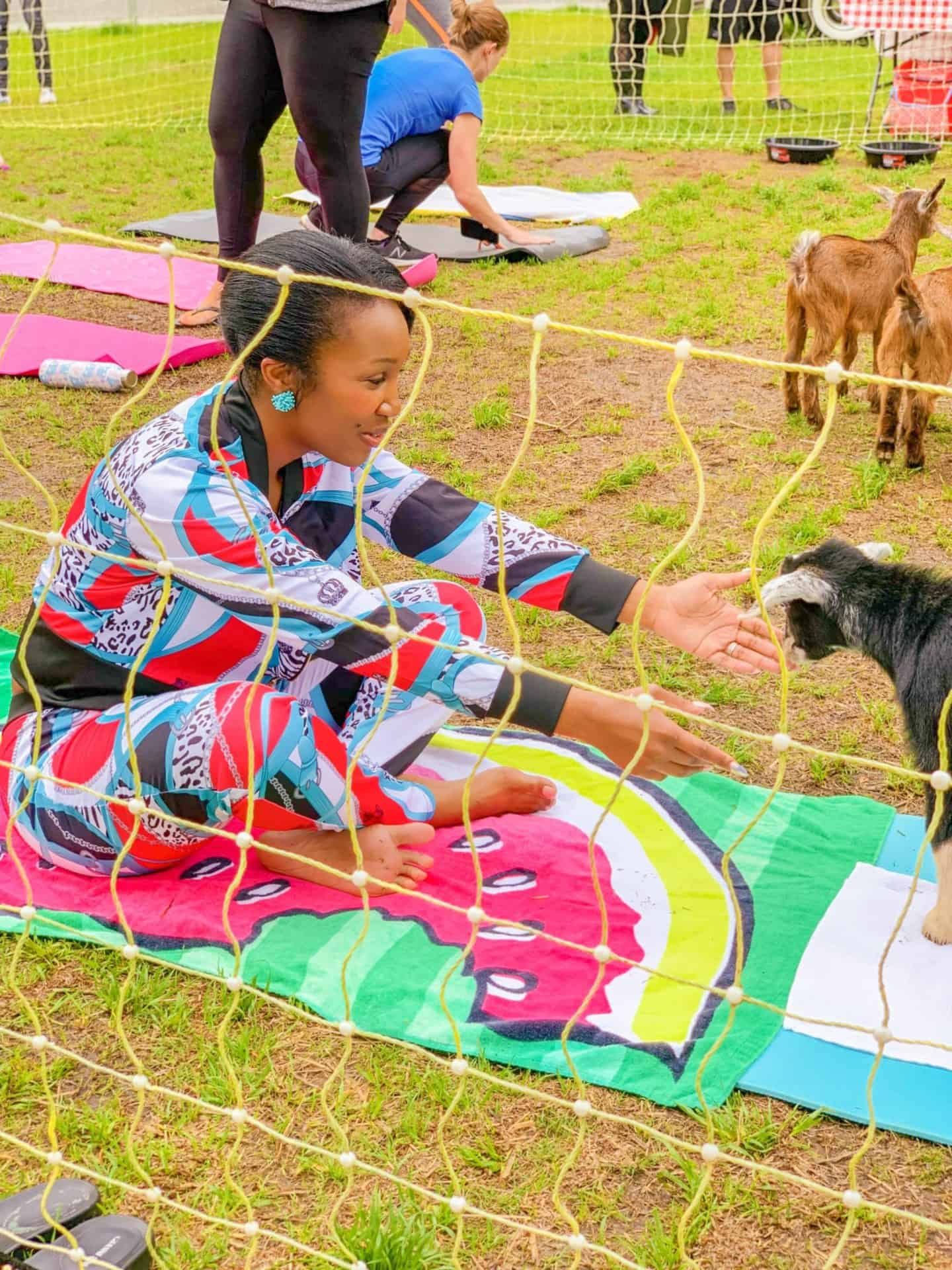 Find goat yoga near me for hysterectomy exercises after surgery
