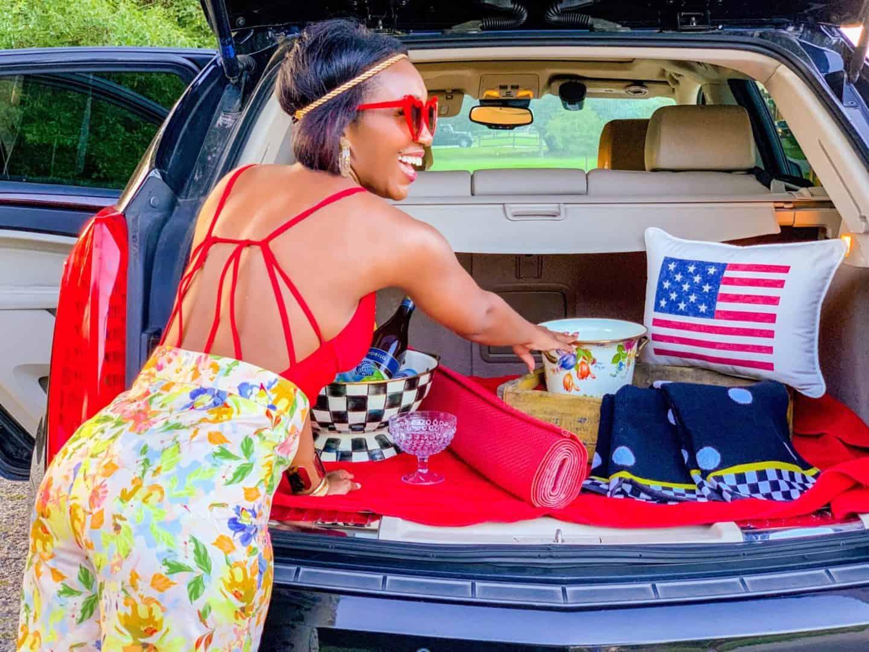 Shaunda Necole Labor Day Virginia Beach Tailgate- Cadillac by the seashore
