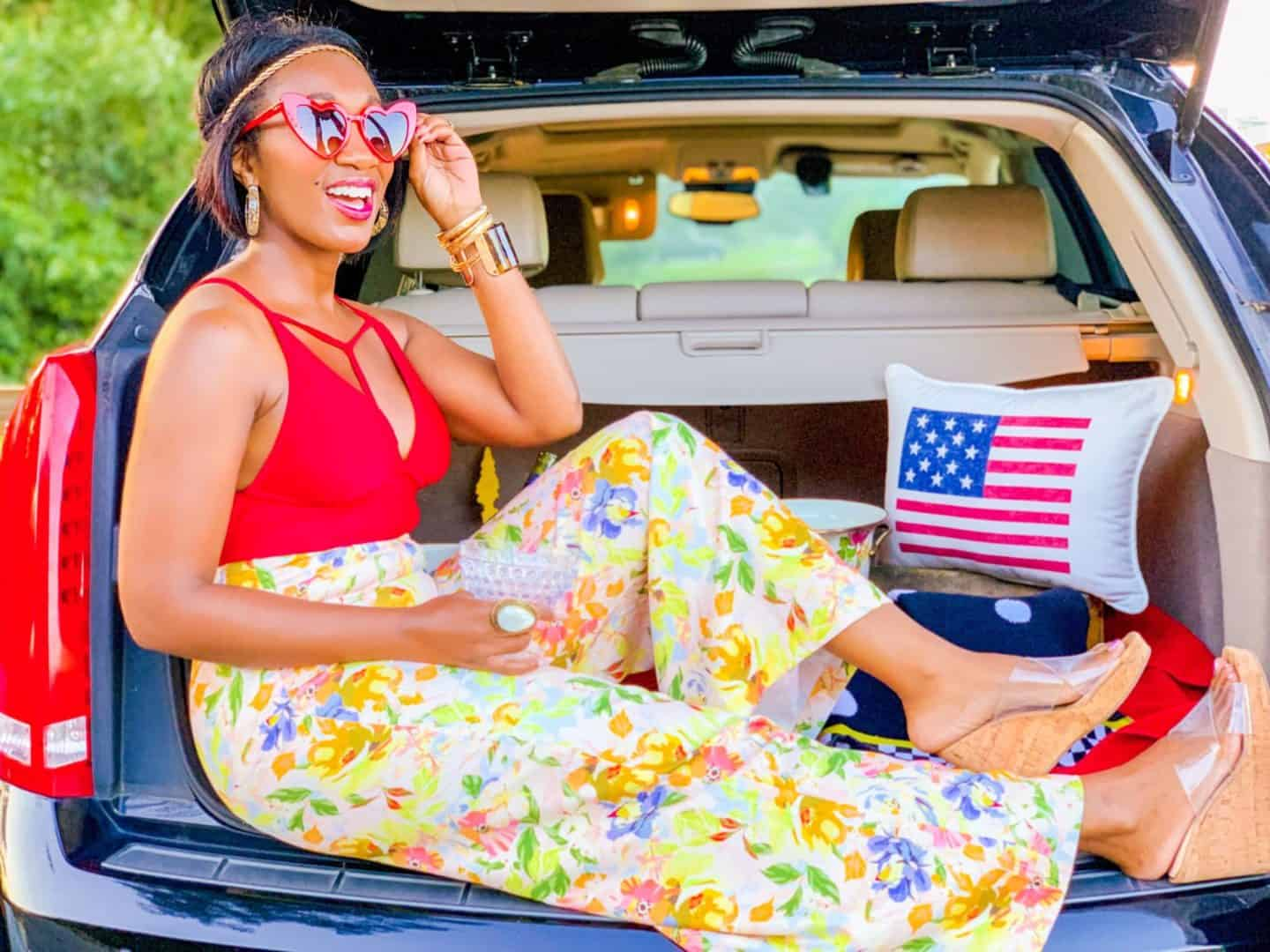 Shaunda Necole Work Hard & Play Harder- Labor Day Weekend in my Cadillac by the shore