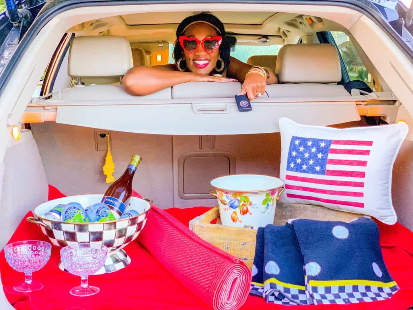 Shaunda Necole Tailgate Glamping Holiday Weekends by the shore with Cadillac + Sneak Peak of 5 Hampton Roads Beaches