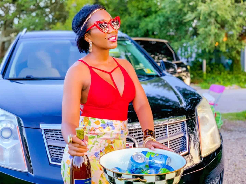 Shaunda Necole Work Hard & Play Harder On Holiday Weekends- Luxury Cadillac By The Shore