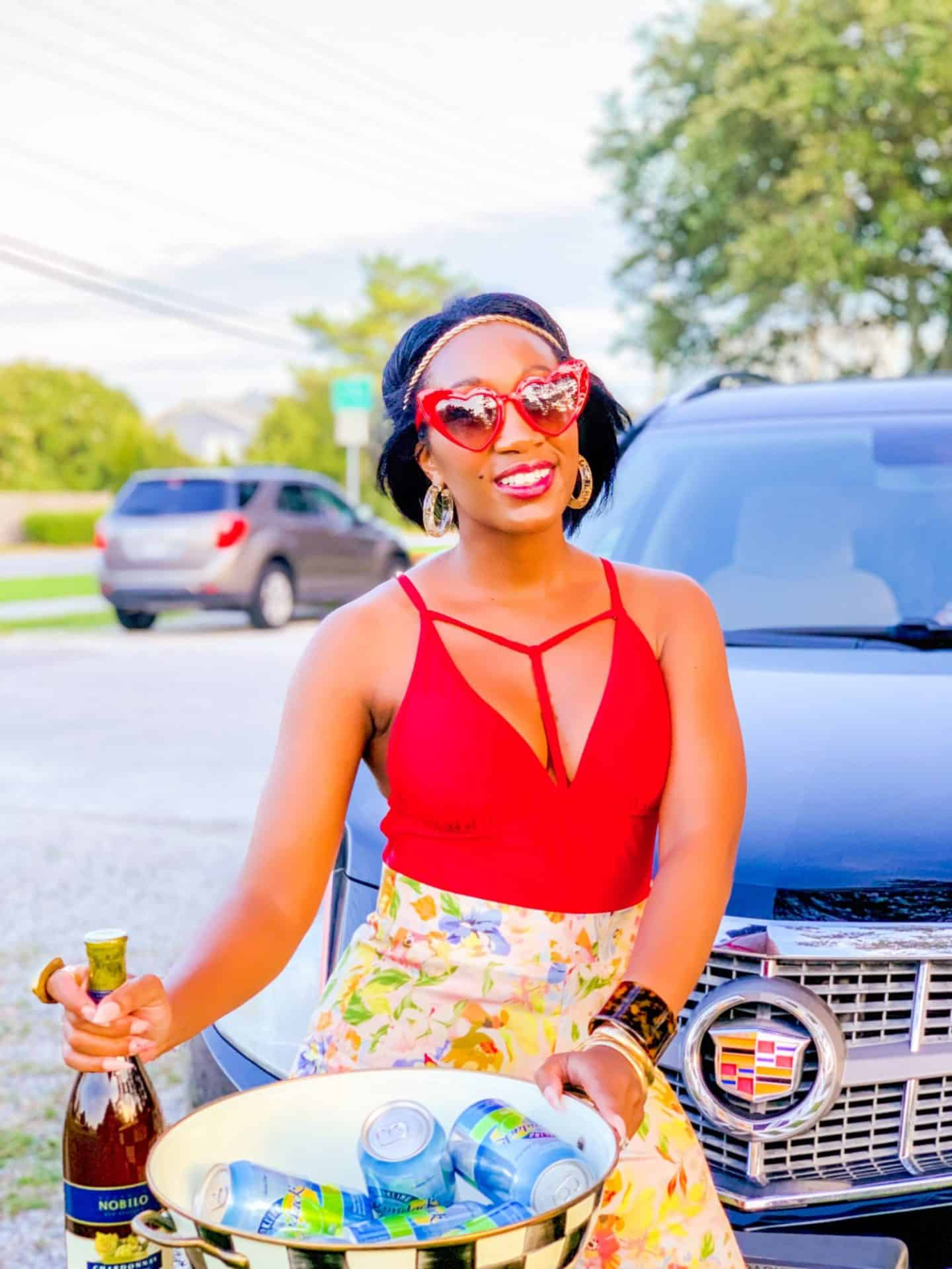 Shaunda Necole Work Hard & Play Harder On Holiday Weekends With Cadillac By The Shore + coastline scenic views