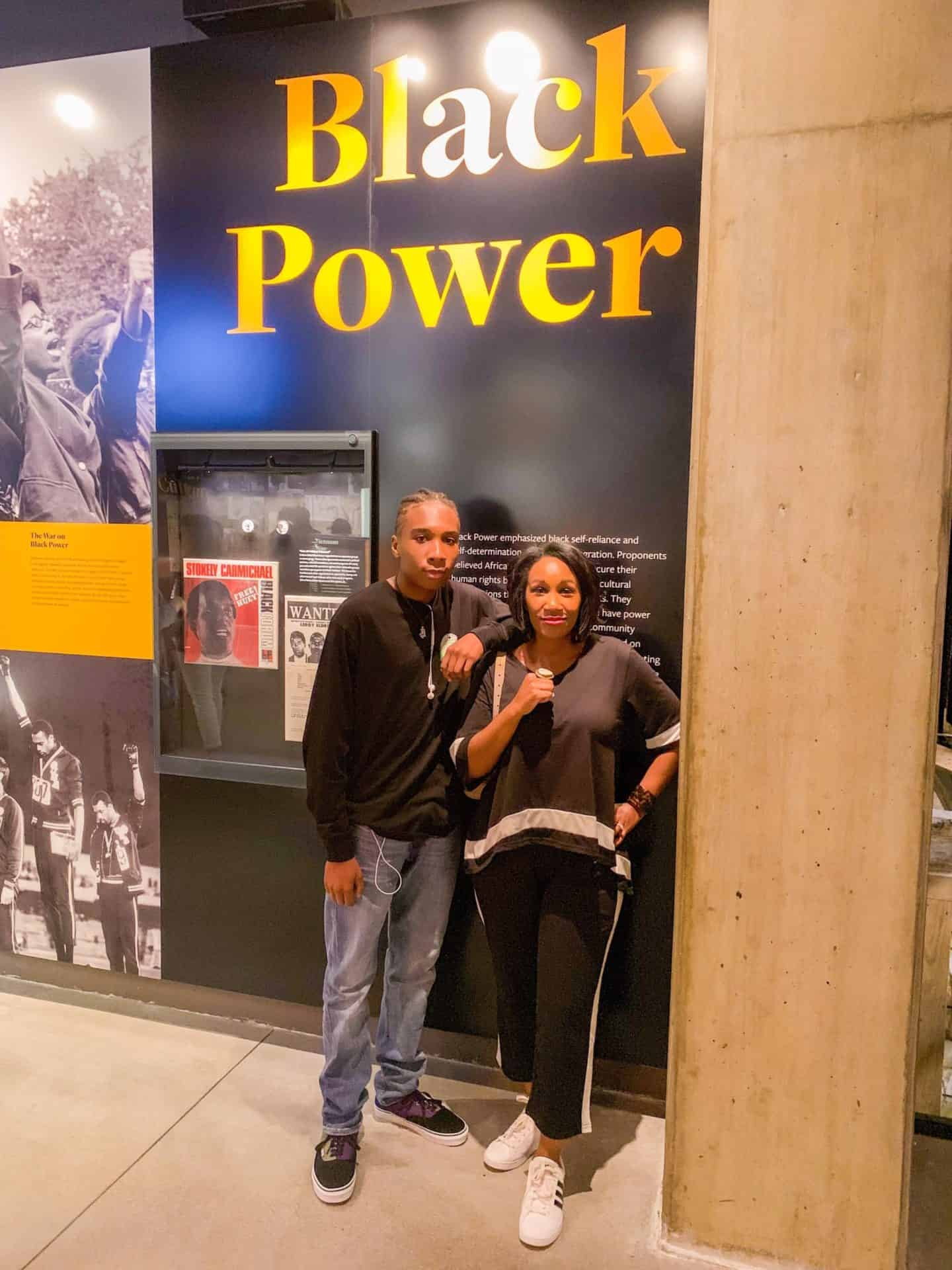 Shaunda Necole—Black Power Educating My Son On the 400th Anniversary of African American History, National Museum of African American History and Culture