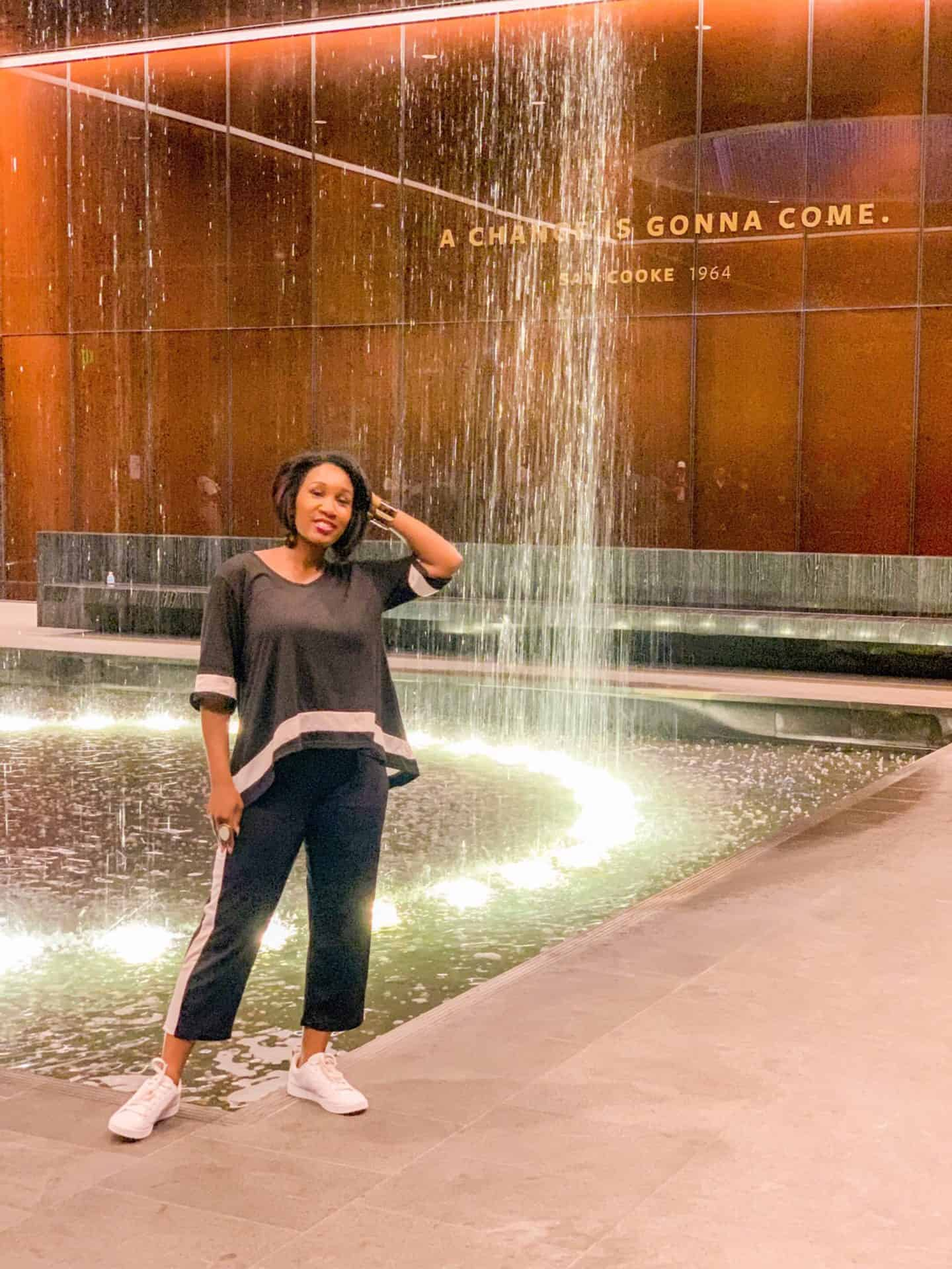 Shaunda Necole—Washington DC, National Museum of African American History and Culture—A change is gonna come. -Sam Cooke 1964