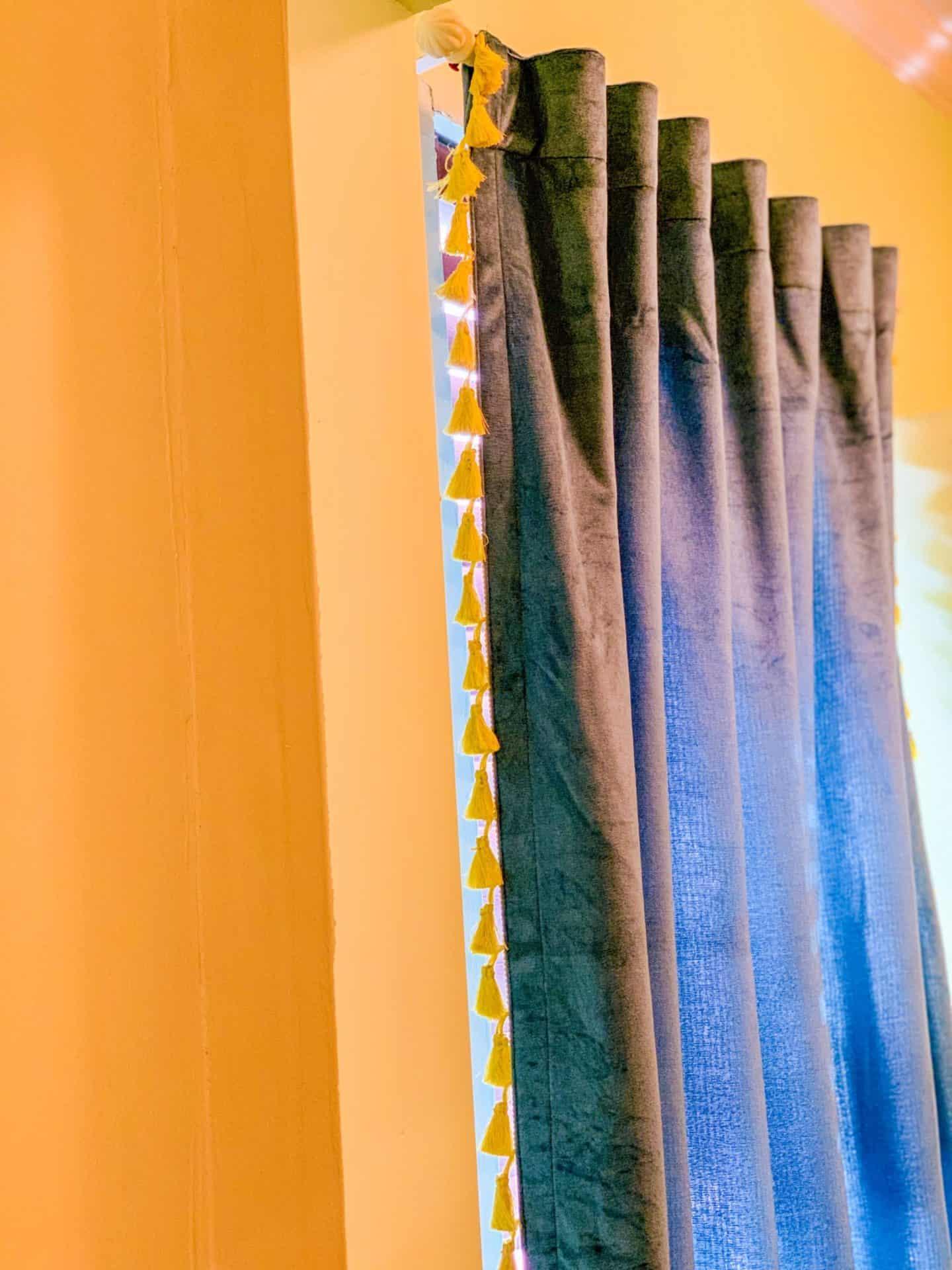 Shaunda Necole- Target Opalhouse velvet curtains