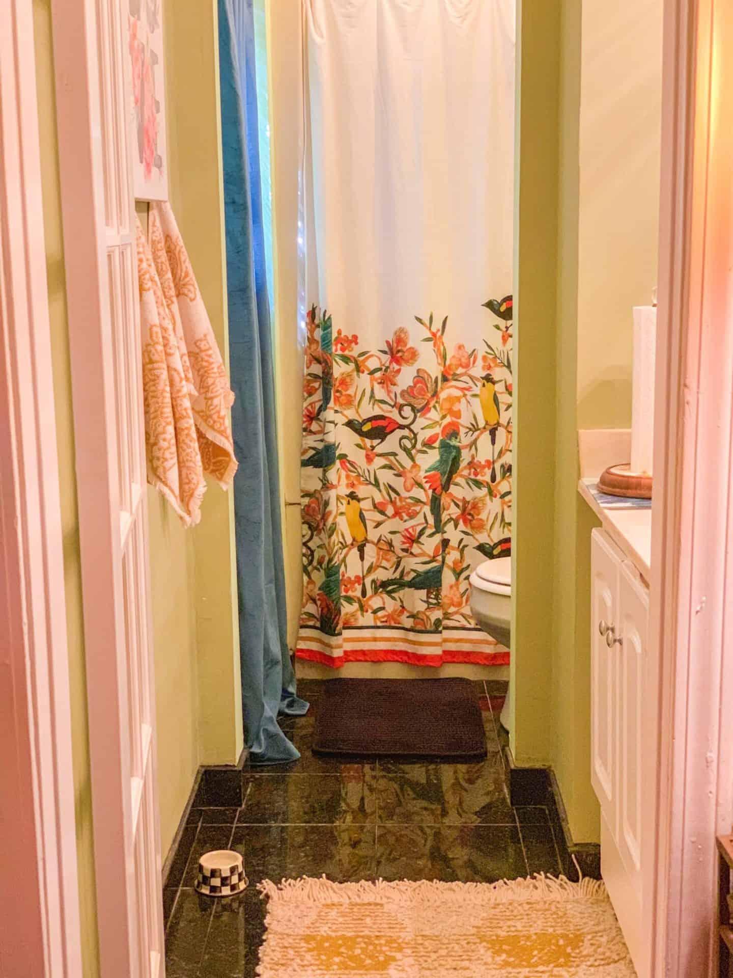 Shaunda Necole- Summer don't go! Saving the season with new bohemian bathroom decor