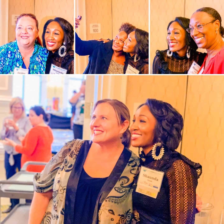 Shaunda Necole- Selfies at speaking event