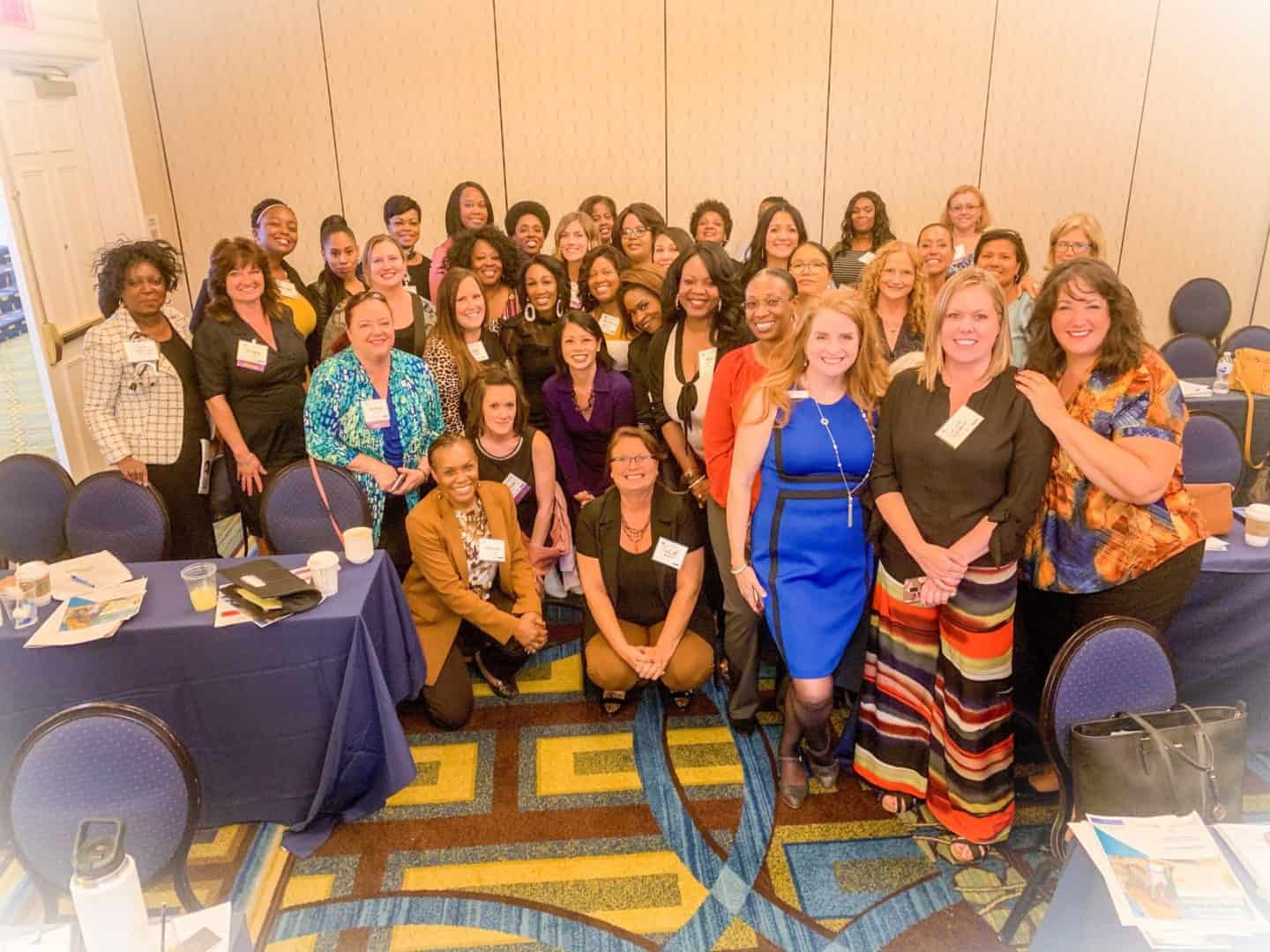 Shaunda Necole, Speaker- picture with the audience