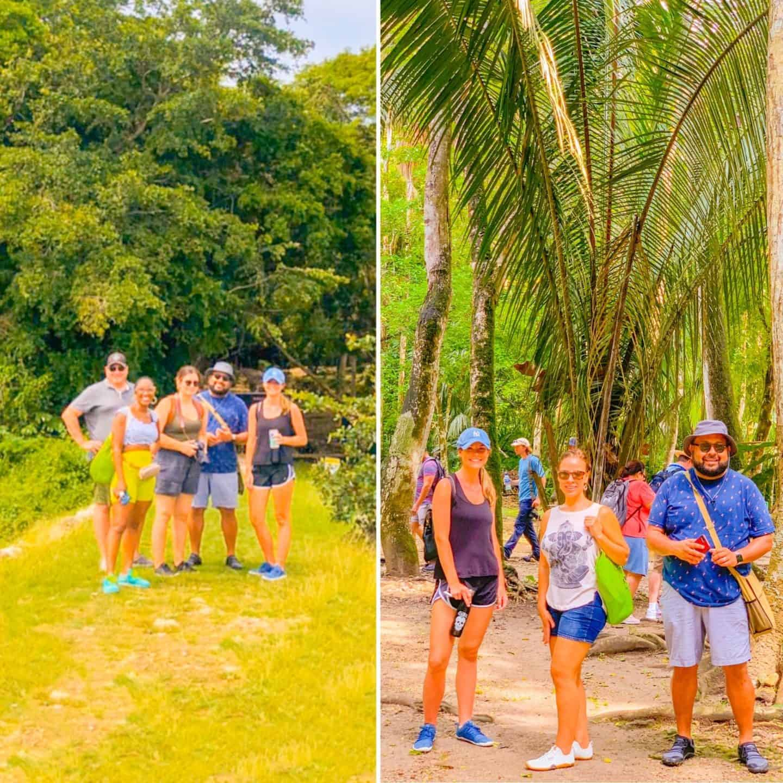 Carnival Cruise Ship Crew in Lamanai, Belize- | Shaunda Necole