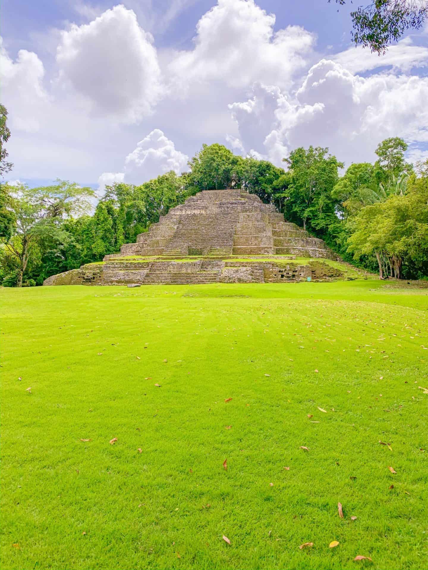Mayan Jaguar Temple - Lamanai Belize | Shaunda Necole