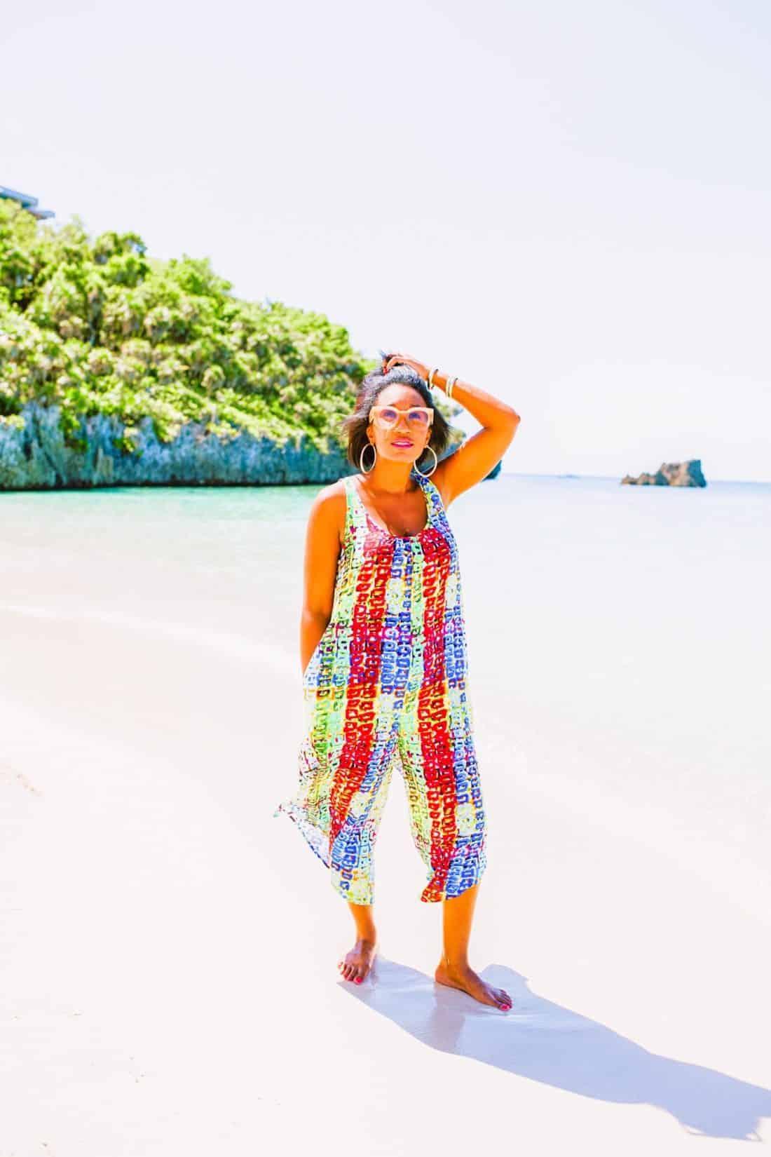 Shaunda Necole- Isla Roatan, Honduras private beach