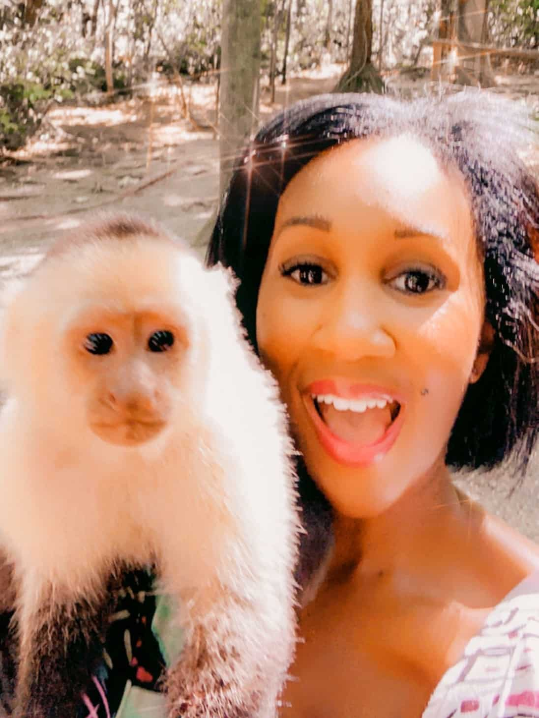 Shaunda Necole- I Was In Honduras When I Had A Breakthrough Moment Of How To Get That Monkey Off Your Back! Monkey = Procrastination!
