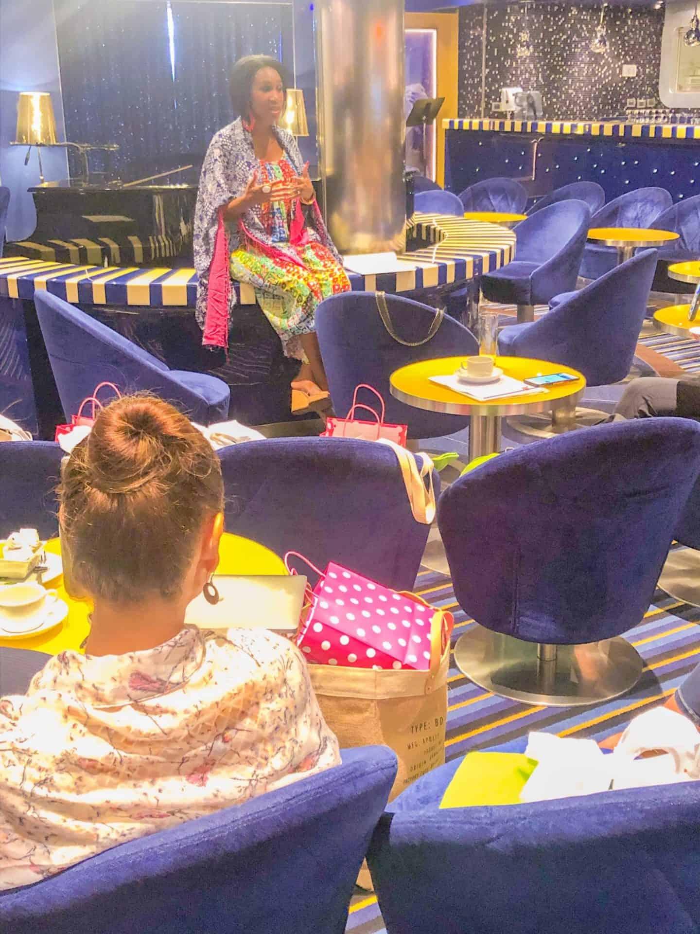 Shaunda Necole- Carnival Cruise Line Social Media Business Retreat Speaking Event