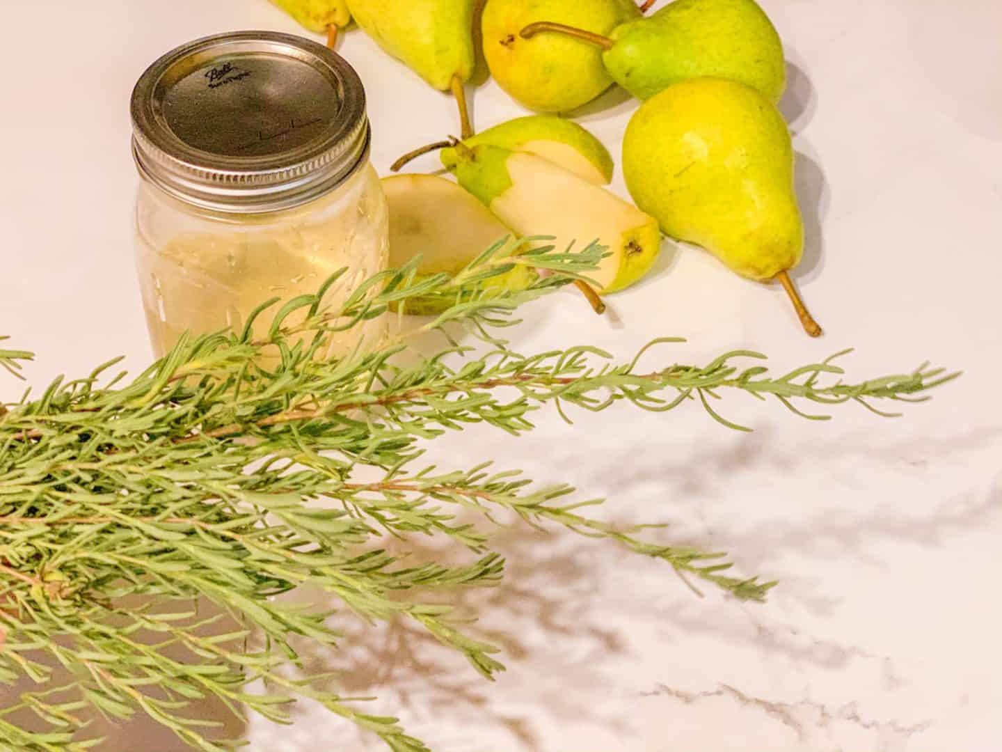 Easy Cocktail Recipes with Lavender, Ginger & Pears