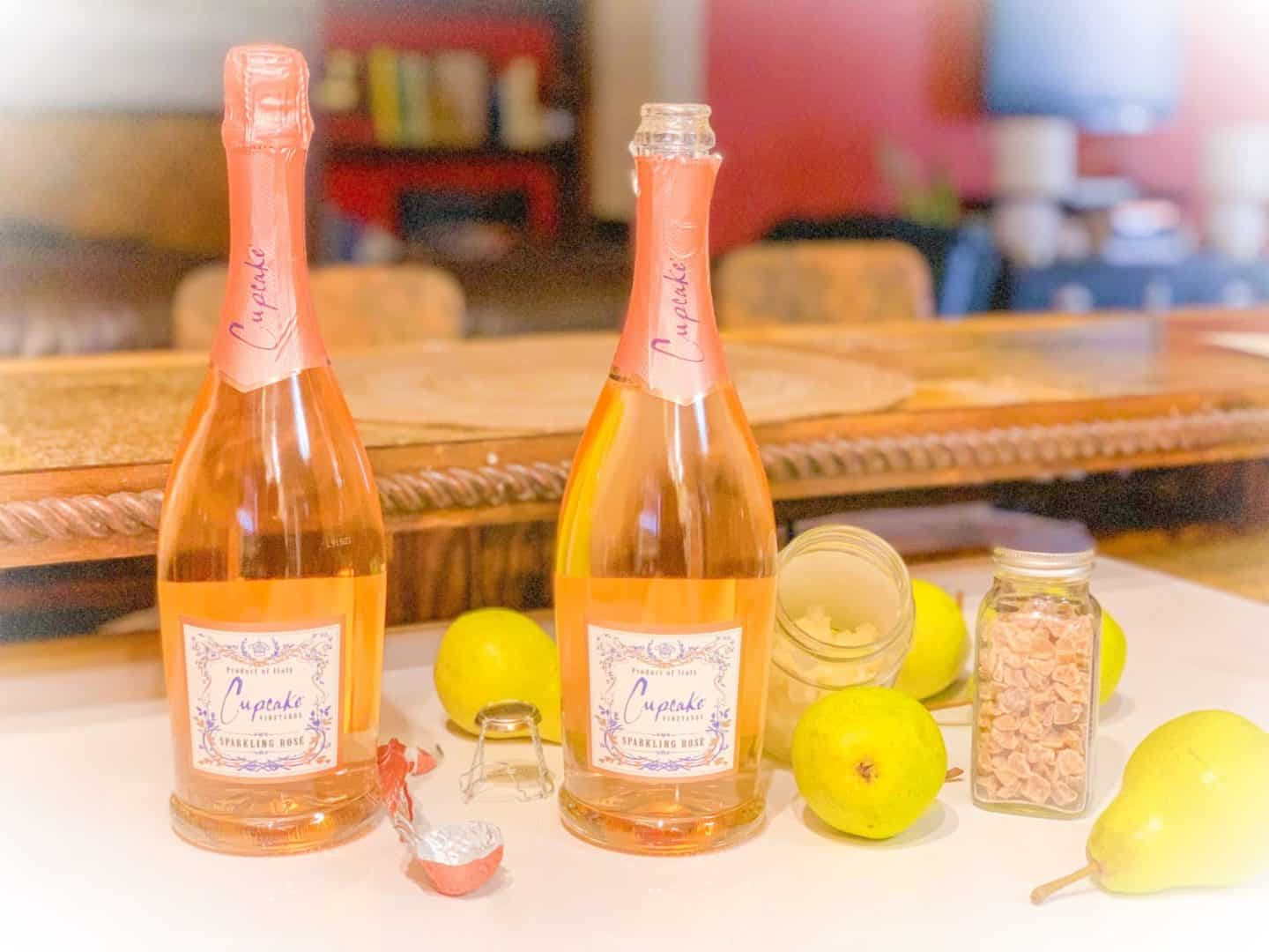 Delicious & Easy Sparkling Rosé Cocktail Recipes With Cupcake Vineyards