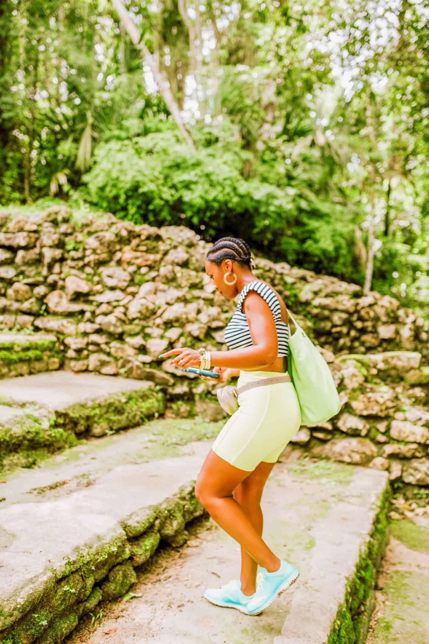 Hiking the Mayan Ruins - Belize | Shaunda Necole