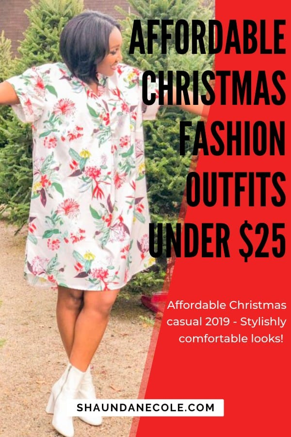 Christmas Fashion Outfits Under $25 - Holiday Fast Fashion