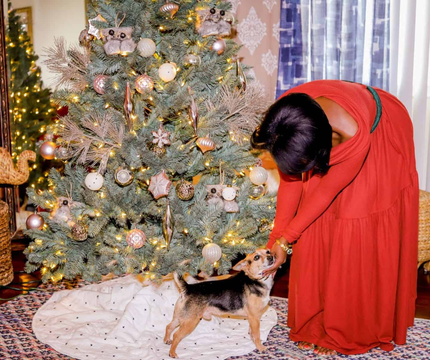 The Perfect Christmas Tree That's Even Puppy Approved! | Shaunda Necole