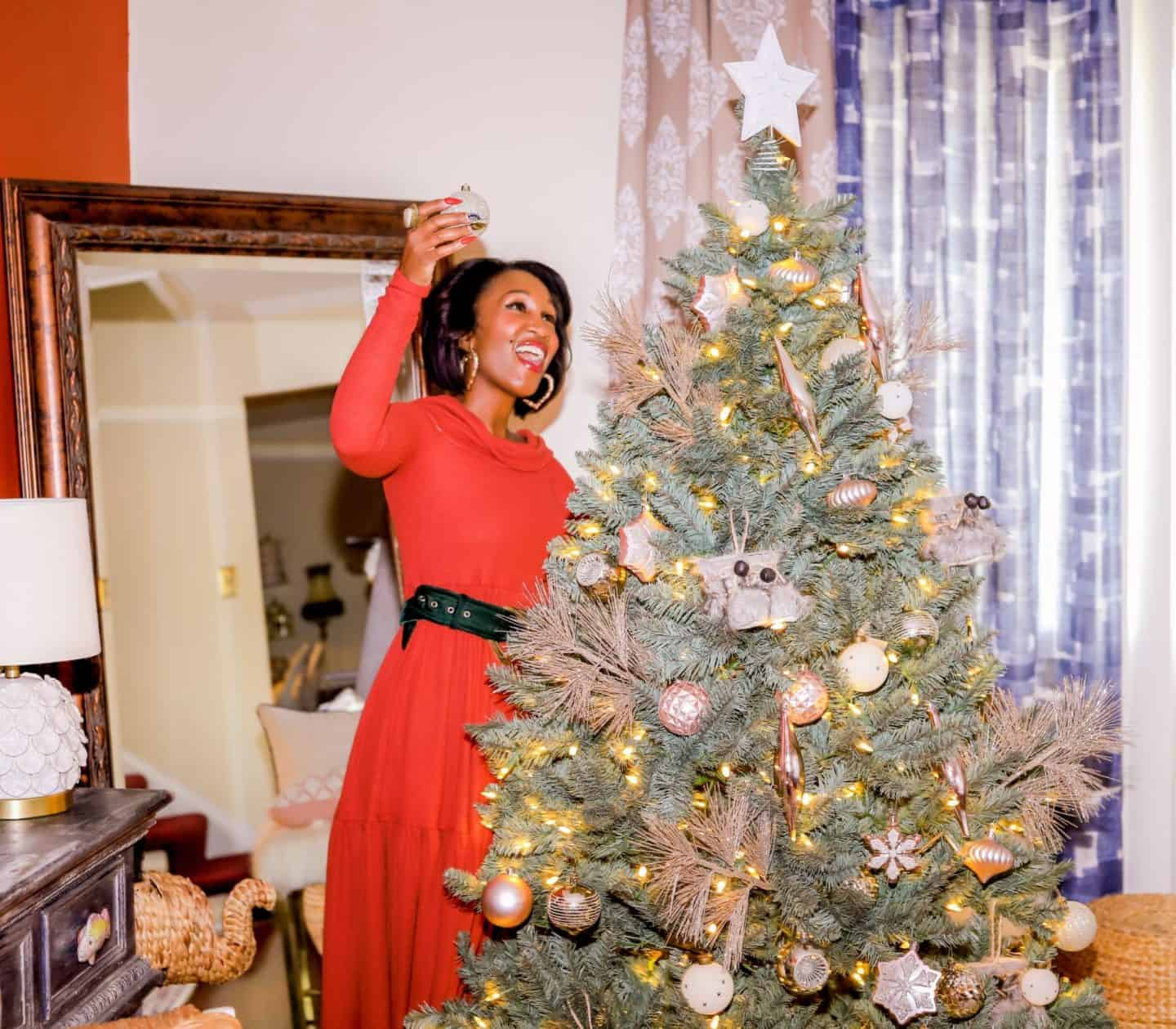 Beauty & No Braun Required Christmas Trees - Easy With King Of Christmas | Shaunda Necole