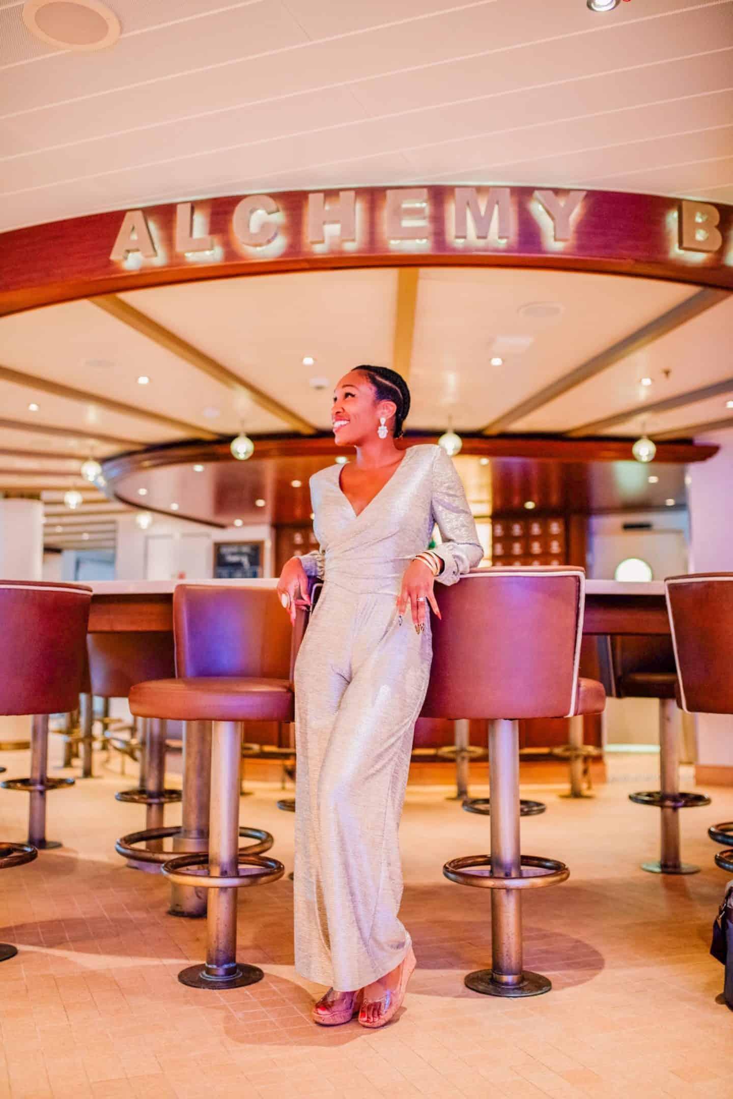 Carnival Cruise Alchemy Bar | Shaunda Necole