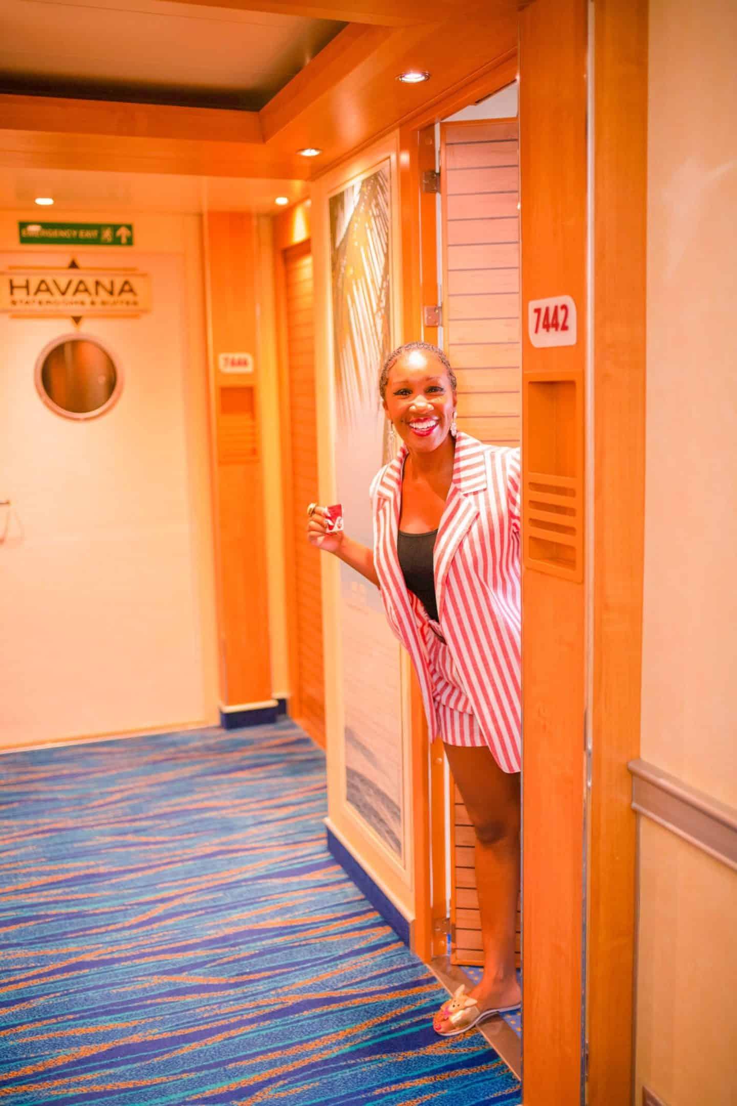 Carnival cruise ship Vista Havana suites