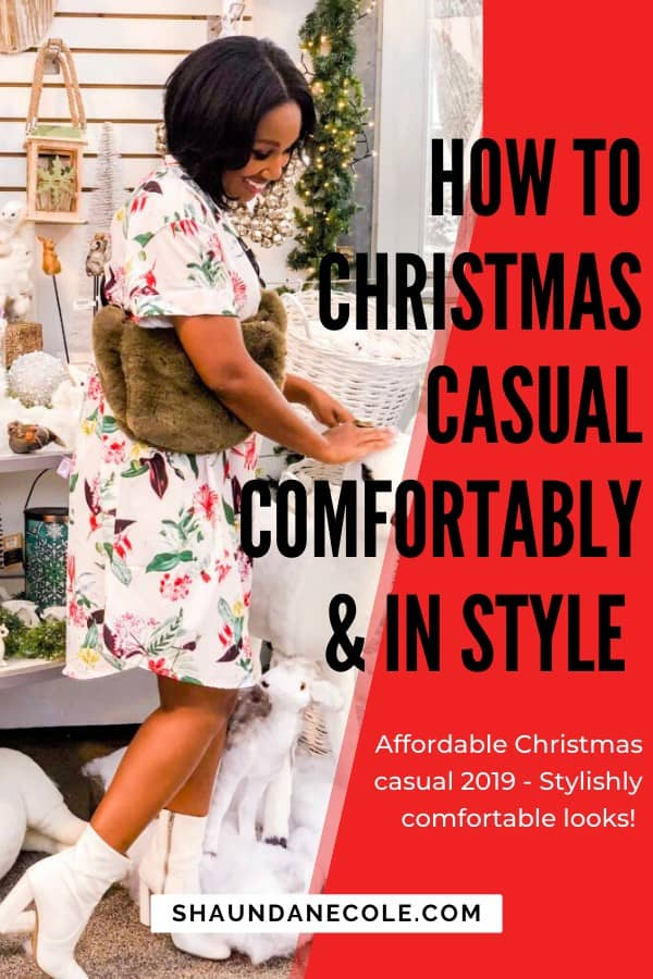 How To Christmas Casual Comfortably & In Style