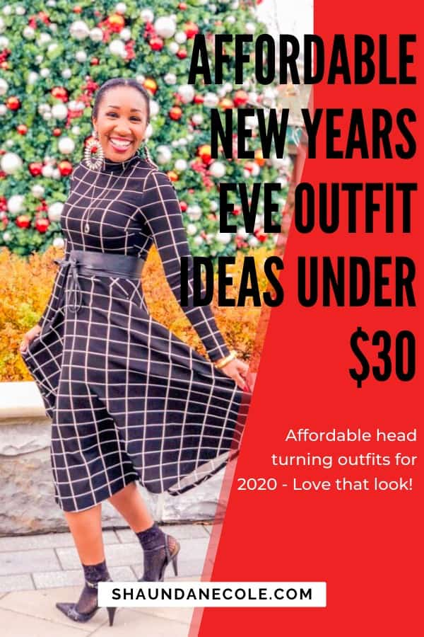 Affordable New Years Eve Outfit Ideas Under $30
