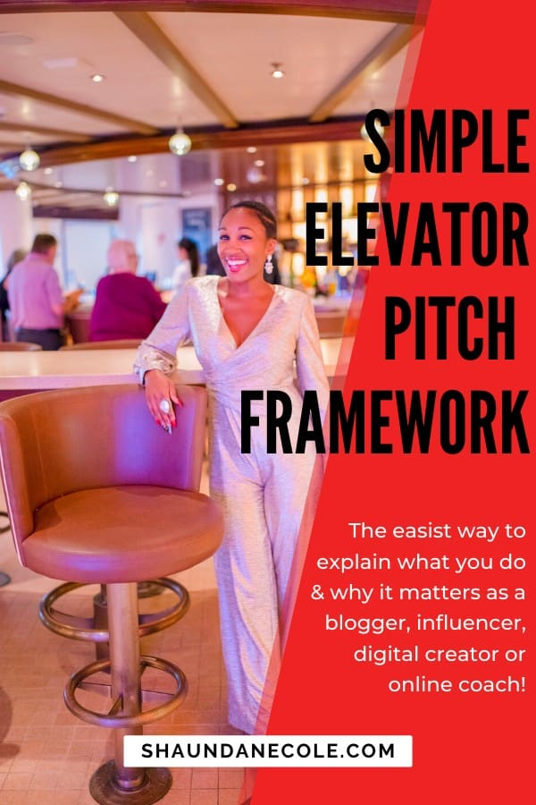 The easist way to explain what you do & why it matters as a blogger, influencer, digital creator or online coach