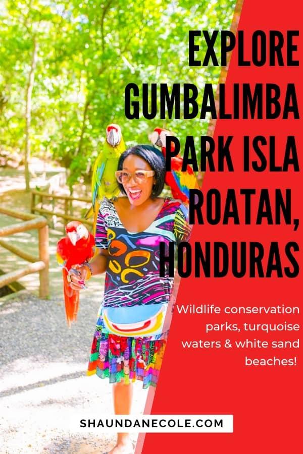 Explore Gumbalimba Park Isla Roatan, Honduras | Shaunda Necole