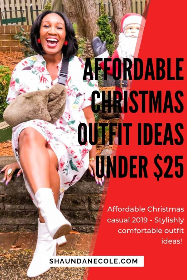 Affordable Christmas Outfit Ideas Under $25