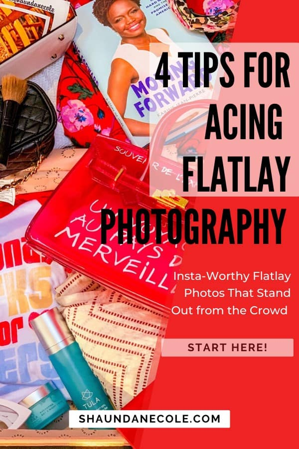 4 Tips For Acing Flatlay Photography!