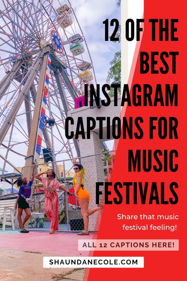 12 Something In The Water Festival Instagram Captions