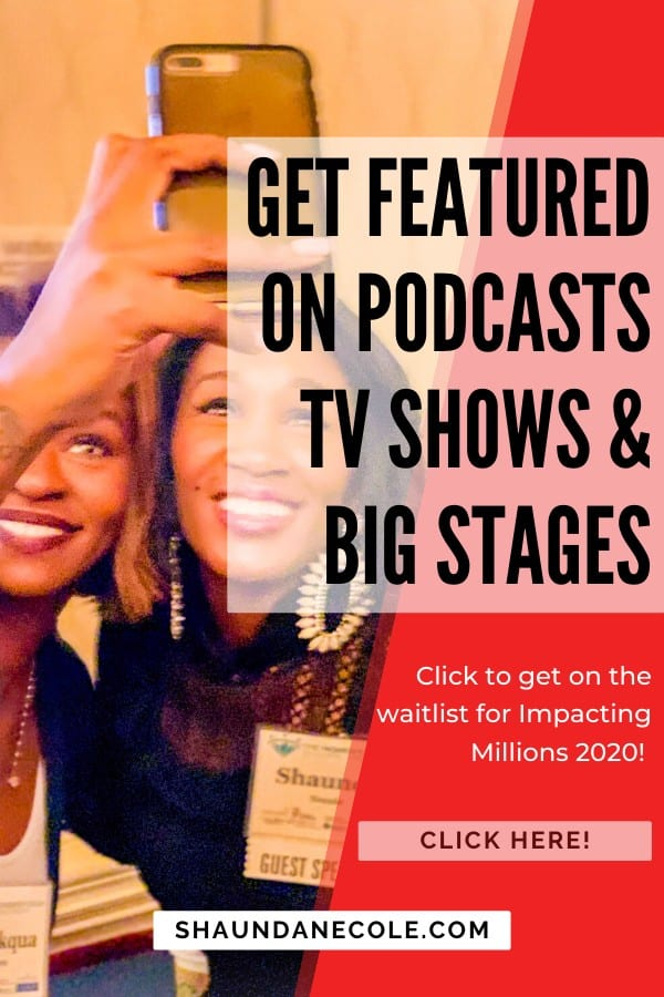 Get Featured On Podcasts TV Shows & Big Stages