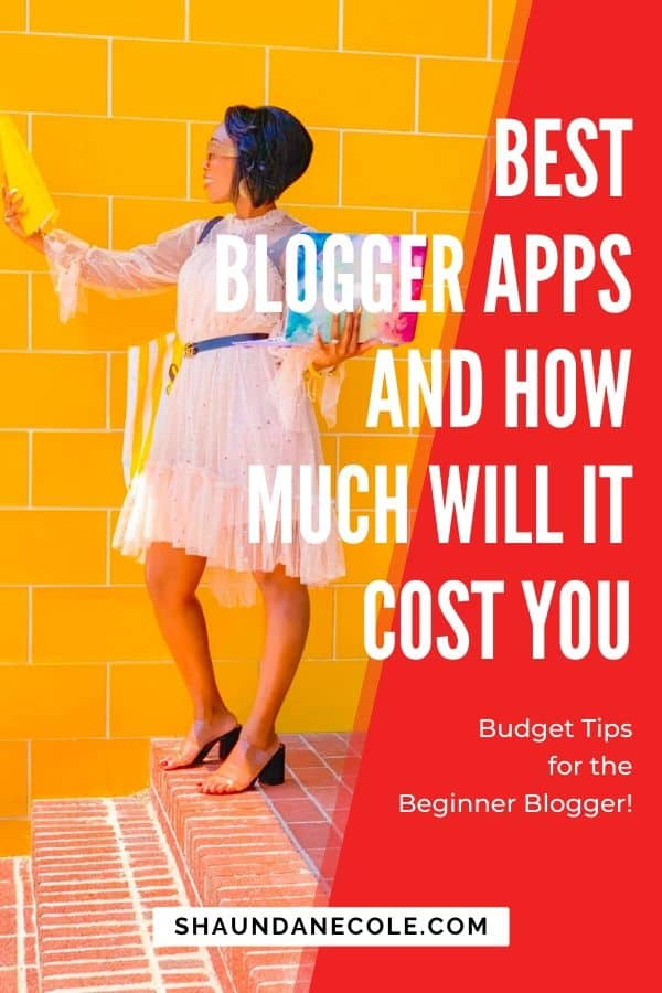 Best Blogger Apps And How Much It Will Cost You