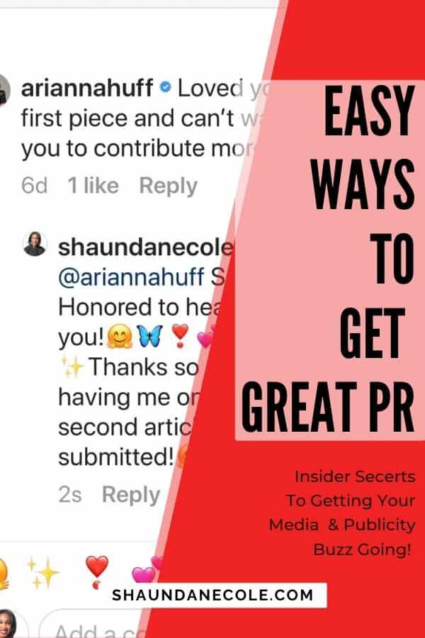 Easy Ways To Get Great PR