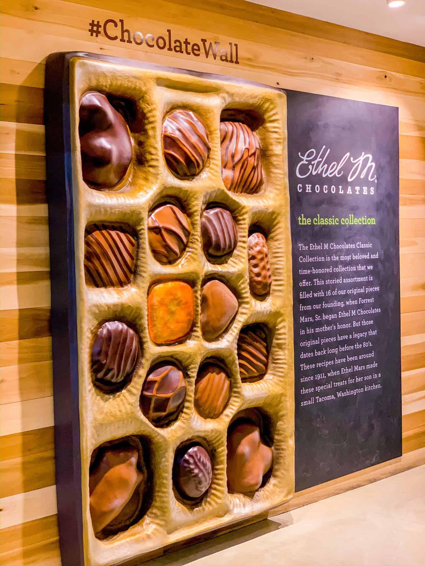 Las Vegas Instaworthy Photo Ideas - Ethel M Chocolate Factory